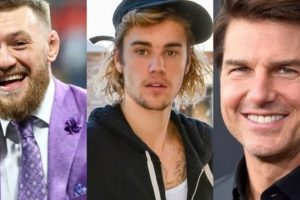 Justin Bieber Tom Cruise